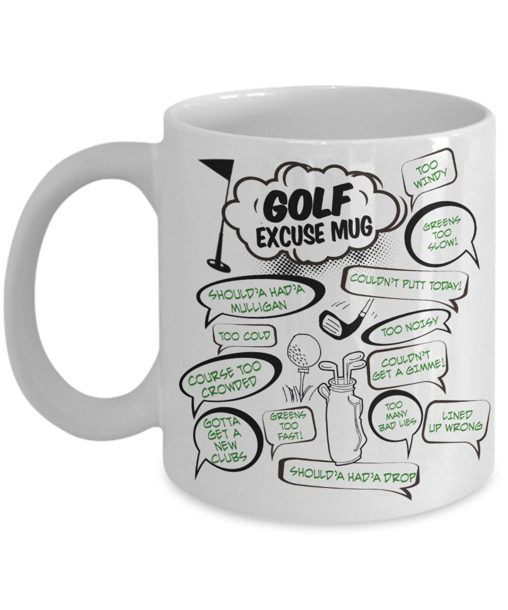 golf coffee mugs | top 10 gift ideas for golfers, golf fans & lovers