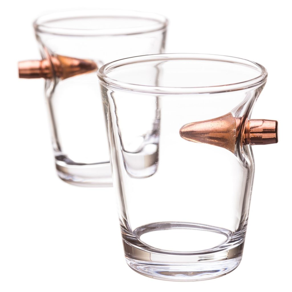 HelloFoods Novelty Good Designs Bullet Shot Glass Latest New Special Surprise Unique Creative Interesting Fun Items