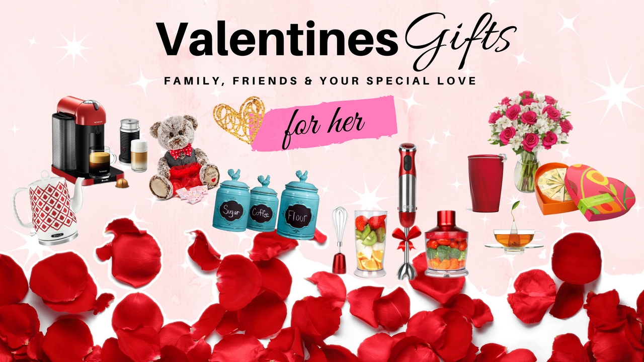 Valentine 39 s day gift ideas for her girlfriend wife for Valentine day gift ideas for wife