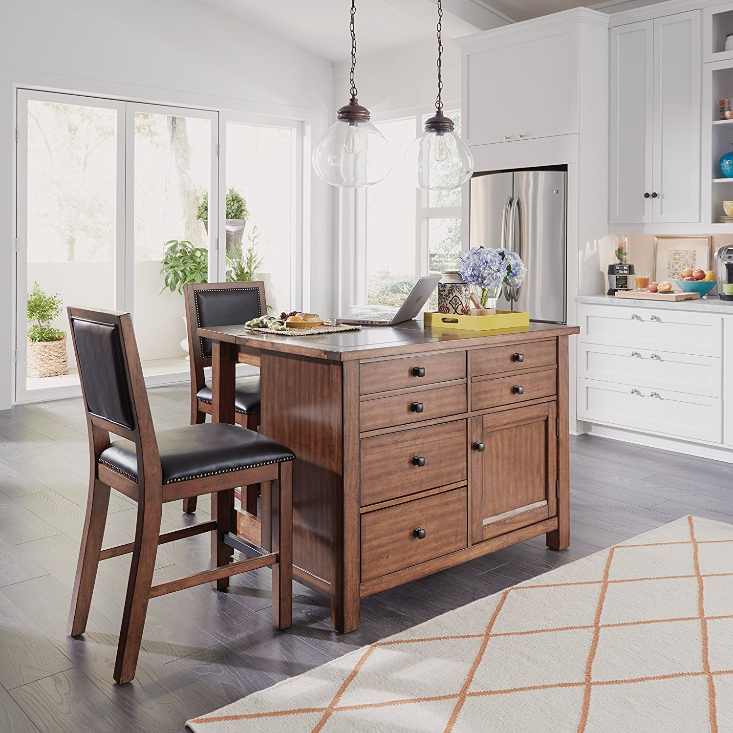 Kitchen Bench Finishes: 2018 Top 10 Best Kitchen Islands, Carts, Centers & Utility