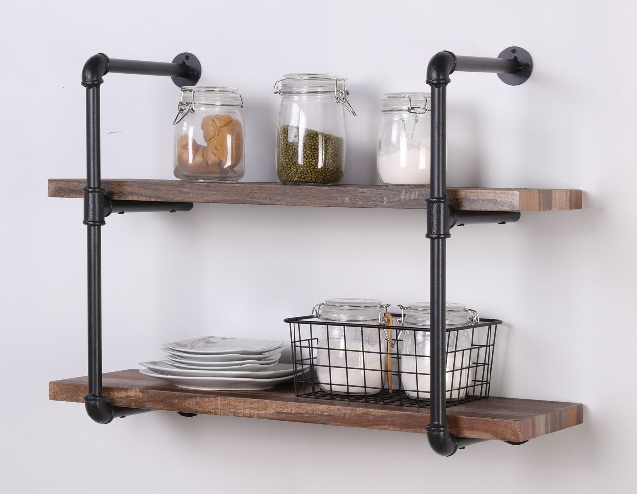 Best Kitchen Wall Shelves - Top 10 Wall Mounted Storage, Shelving ...