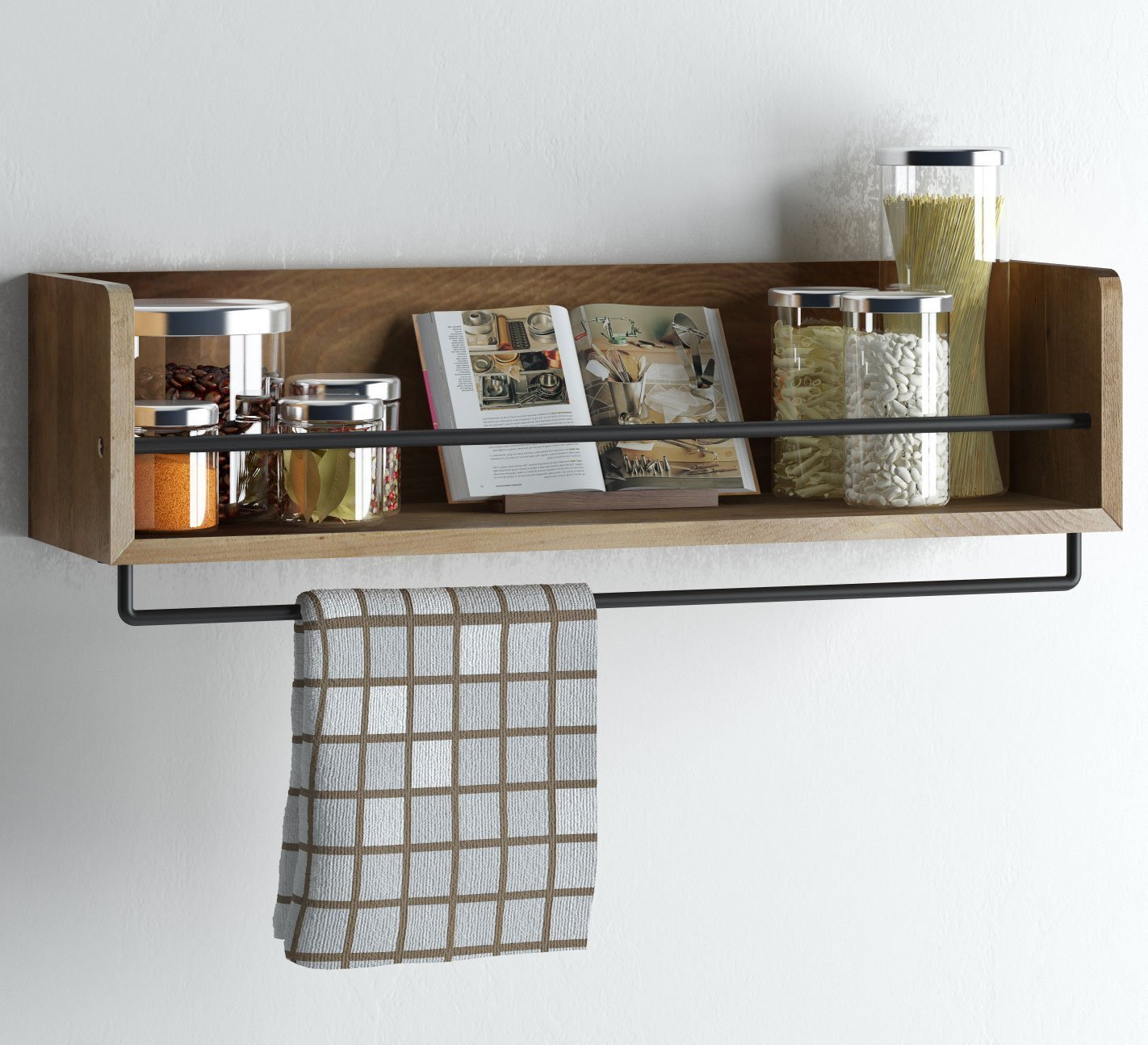 Best Kitchen Wall Shelves - Top 10 Wall Mounted Storage ...