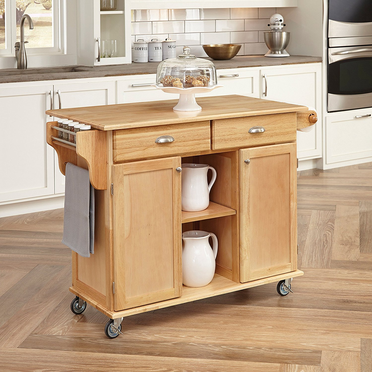 2018 Top 10 Best Mobile Kitchen Carts Centers Islands Utility Tables