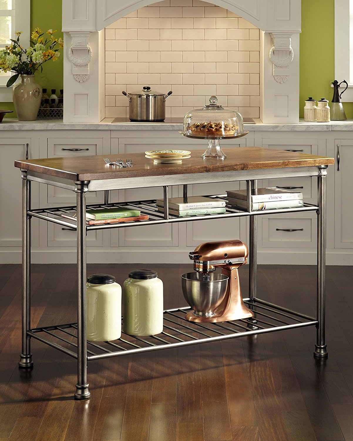 2018 top 10 best mobile kitchen carts centers islands Kitchen utility island