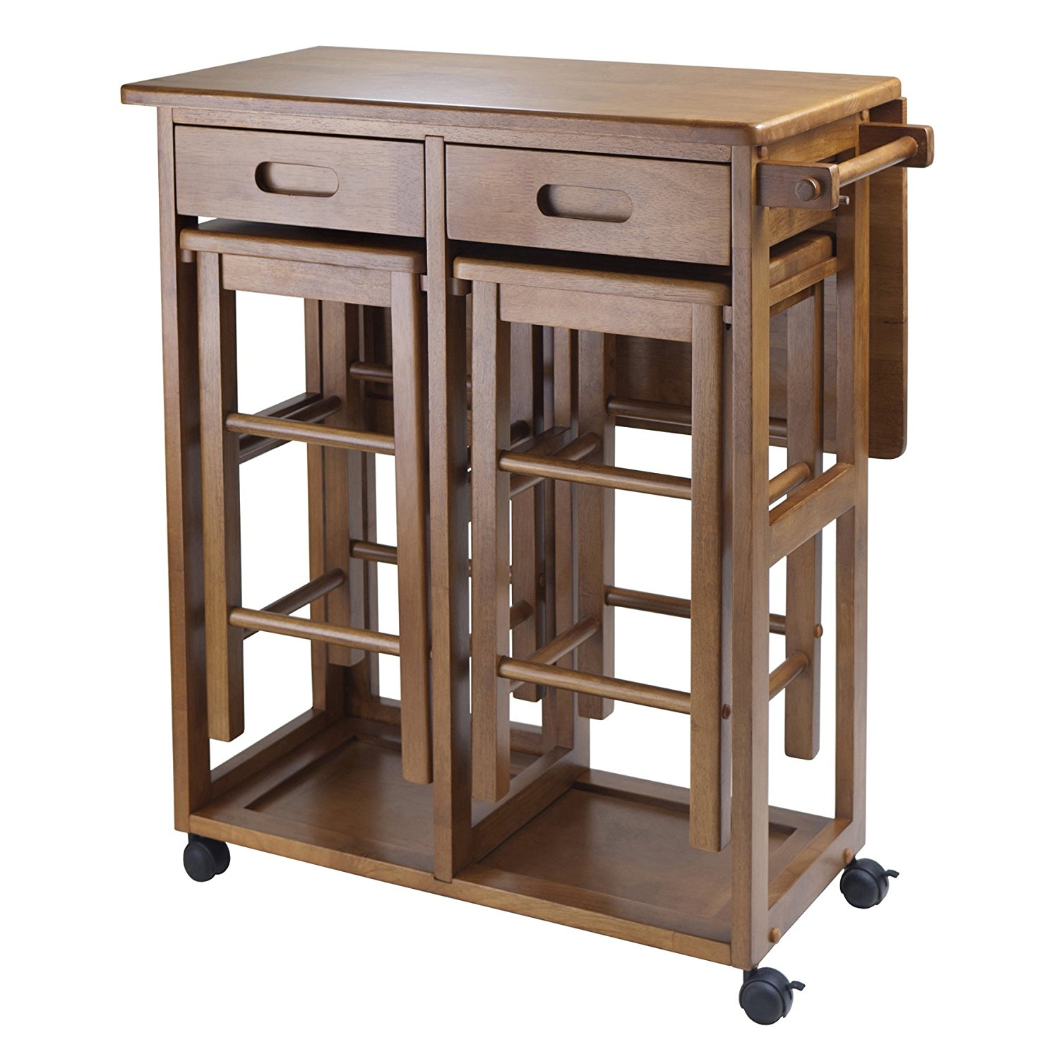 Kitchen Island Table Online India: 2018 Top 10 Best Mobile Kitchen Carts, Centers, Islands & Utility Tables