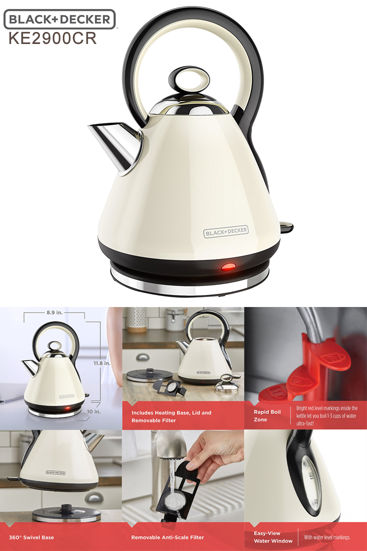 Electric Kettle For Tea Coffee Amp Water 2018 Editors