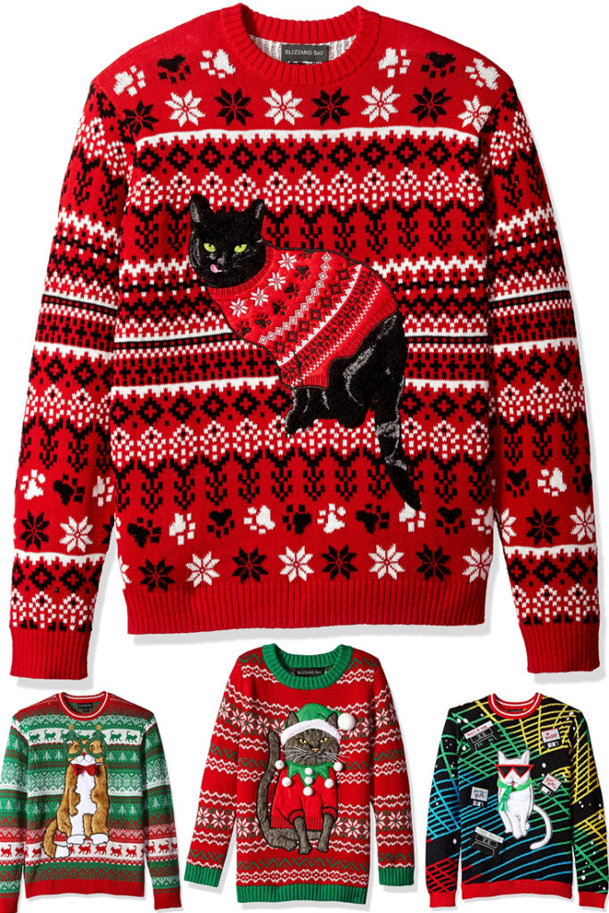 christmas gifts cat pet xmas presents ideas unique unusual holiday inspiration cute cuddly adorable chic funny & Christmas Gifts for Cat Lovers | Unique Holiday Gift Ideas for Pets ...